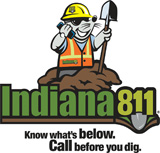 Call before you dig! Dial 811